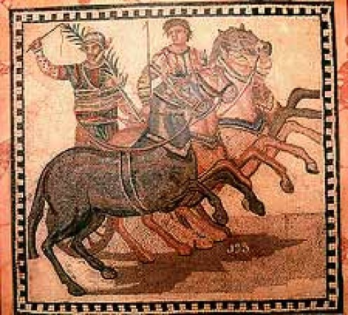 Equirria: Horse Race, in Honor of Mars, Roman God of War