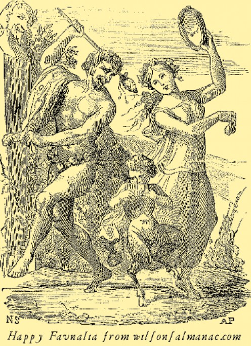 Celebrating Faunalia, and Faunus, Roman God of the Forest