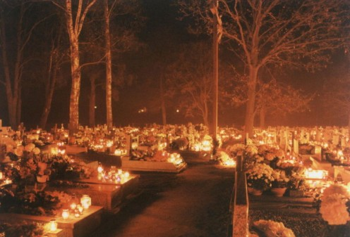 The All Saints' Day can be traced back to Feralia, a Roman holiday to honor the dead.