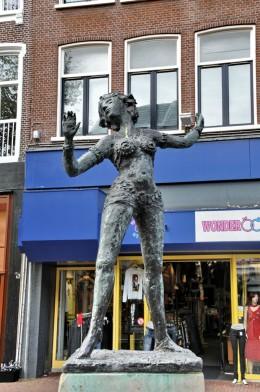 Statue of Mata Hari, Leeuwarden, Netherlands