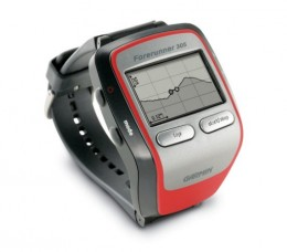 With the Forerunner 305 you can use rudimentary mapping and waypoint marking in order to keep track of locations along your run.