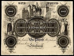 Early Paper Money of Edinburgh