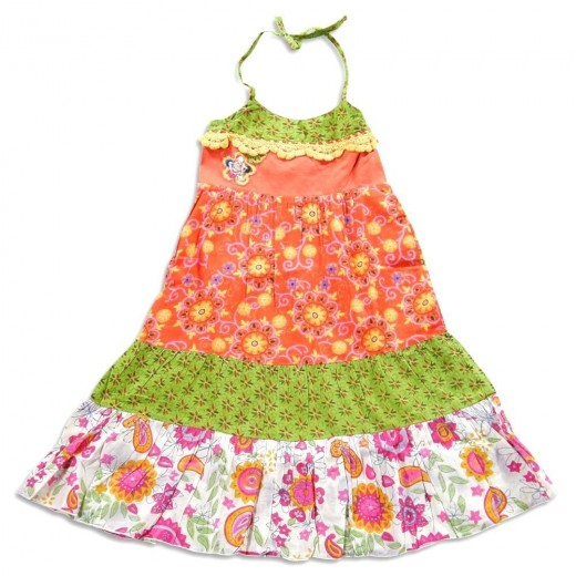 Mish - Toddler Girls Halter Sundress
