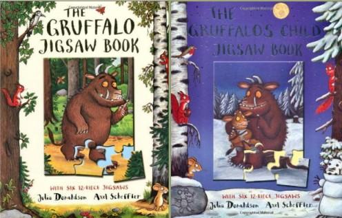Gruffalo Jig Saw Book Covers