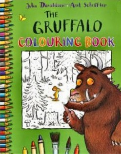 Gruffalo Colouring / Coloring Front Cover