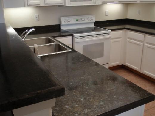 Refinish Your Laminate Countertop To Look Like Granite
