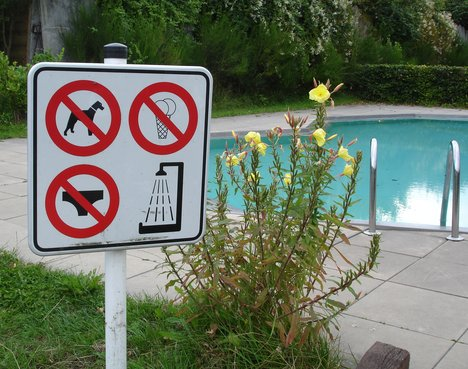 Swimming Pool Safety Poster