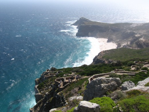 Cape of Good Hope as seen from Cape Point