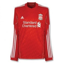 Liverpool Home Jersey 2010-2011 - Long Sleeved