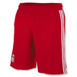 Liverpool 10/11 Home Youth Soccer Shorts