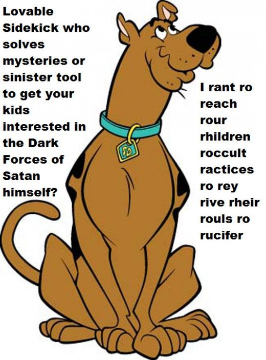 As a child the occult influences in Scooby Doo meant I was forbidden from watching the show.