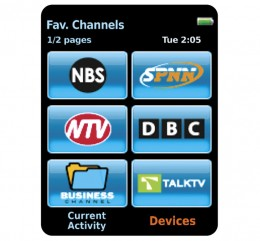 Go right to your favorite channels.