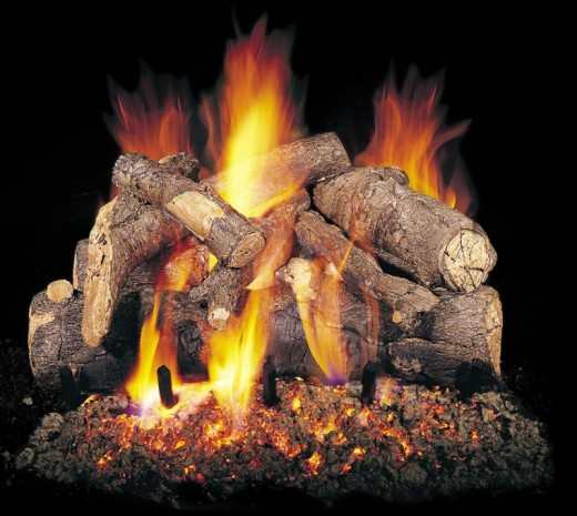 Gas Fireplace Replacement Log Fireplaces