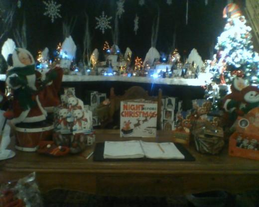 Santa's Desk at his workshop.