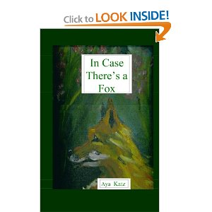 """The cover of """"In Case There's a Fox"""""""