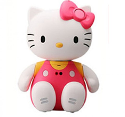 The third of my Hello Kitty Toys is one that all girls will cuddle,