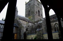 Cathedral cloisters, St. David's.