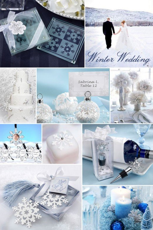 Winter Wonderland Wedding Inspirations