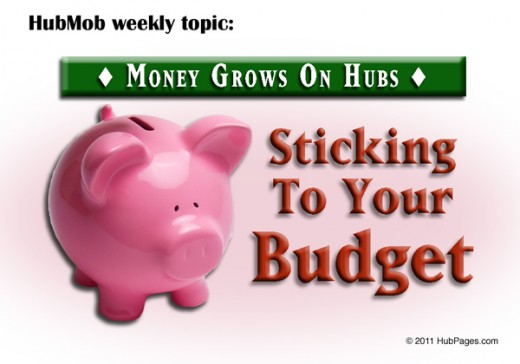 Sticking to your Budget on HubPages