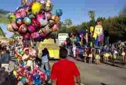 Balloons predominant in La Paz