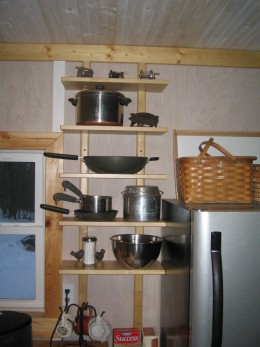 Cabin Kitchen Idea Using Ikea Cabinets For A Tight Budget