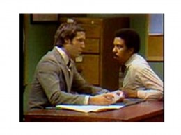 The Job Interview, Chevy Chase and Richard Pryor in a 1975 Saturday Night Live performance. Figure 7.3