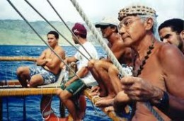 Nainoa Thompson and crew