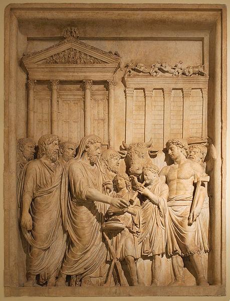 Ancient Roman Robigalia festival