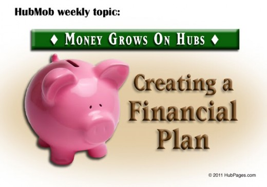 Creating a Financial Plan on a Budget