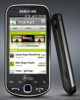Samsung Intercept (Android)