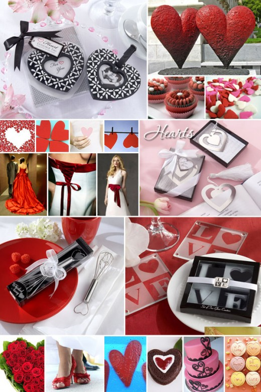 M EVENTS VALENTINE 39S DAY WEDDING IDEAS RED BLACK AND WHITE WITH SILVER