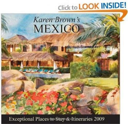 Karen Brown's Mexico - Front Cover - 2009.  Artist: Jan Pollard