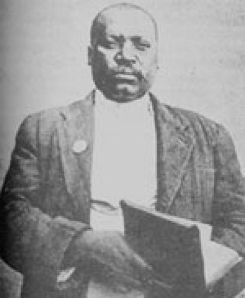 Enoch Mgijima. Image from SA History.org