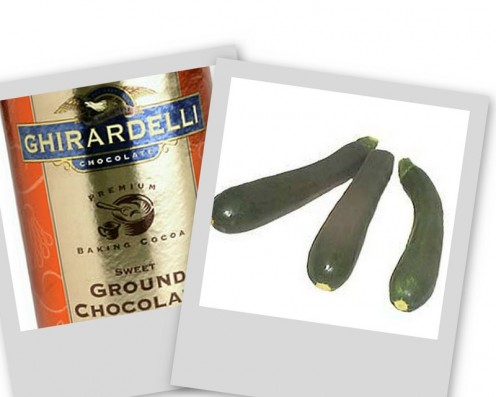 Chocolate and Zucchini together?  Yep!