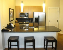 If you're taking a long vacation, look into extended stay hotels or hotels with small kitchens right in the room.