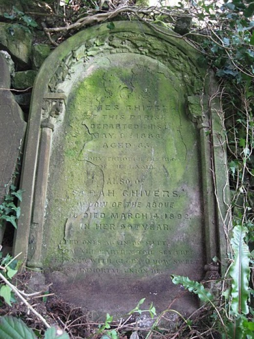 Always check out the churchyard in the parish of your ancestors, you may find someone you didn't know existed