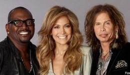 Randy Jackson, Jennifer Lopez, and Steven Tyler