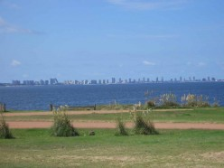 From Punta Ballena there are fine views of Punta del Este