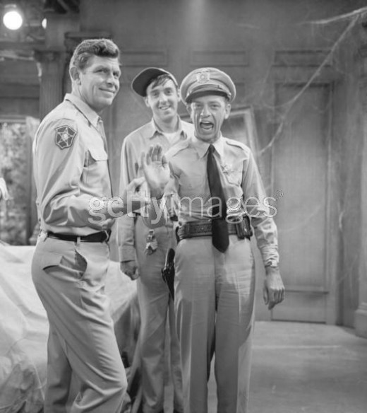 SHERIFF TAYLOR, DEPUTY FIFE, AND GOMER PYLE