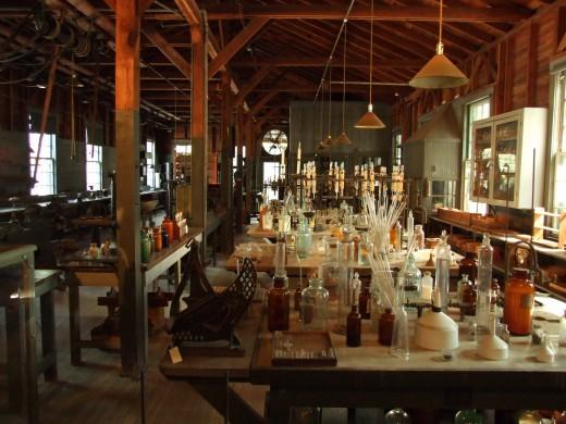 Thomas Edison's Botanical Research Laboratory