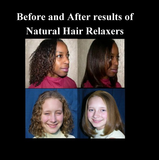 Results from Usage of Natural Hair Relaxers