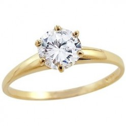 Buy Valentine's day gifts for her online - solitaires and gold rings
