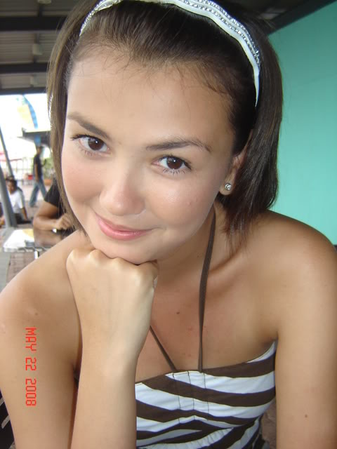 the girl next door Angelica behind her hot image