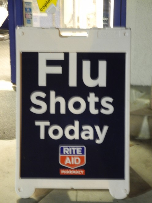 I'm strongly convinced that there is a direct link between the chemtrails and the fact that our media has been promoting the benefits of having a flu shot.  In my opinion, I feel that the combination of the 2 -- would prove deadly.