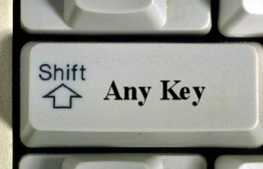 Didn't we all want to know where that darned Any Key was?