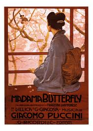 Butterfly watching for her faithless lover to return.