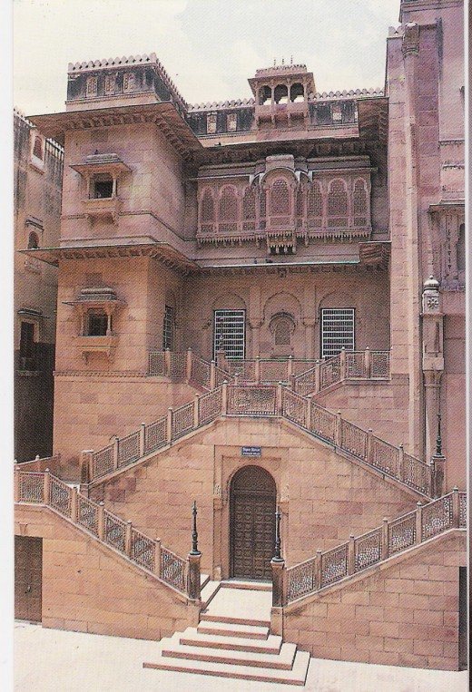 ANOTHER PART OF FORT-BIKANER