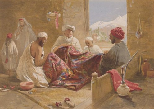 Muslim Shawl Makers