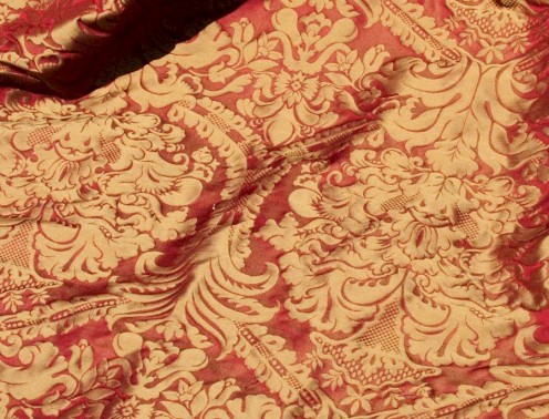 Renaissance influenced fabric