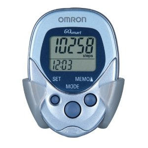 A basic, inexpensive piezoelectric pedometer, loaded with features and voted BEST PEDOMETER on multiple websites including www.amazon.com